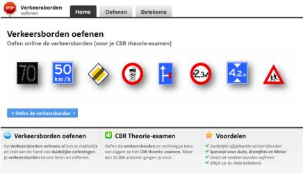 Verkeersborden - Verkeersschool van Nimwegen